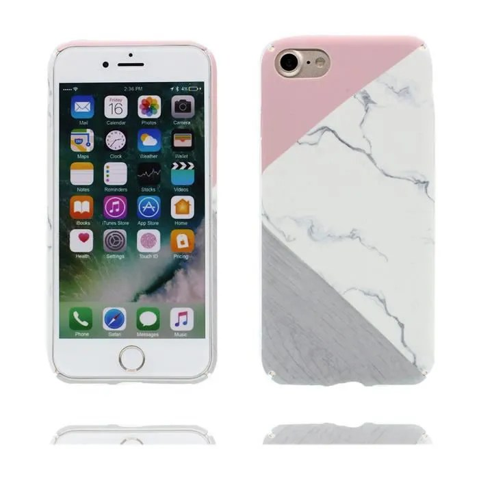 iphone 7 blanc marble coque outlet
