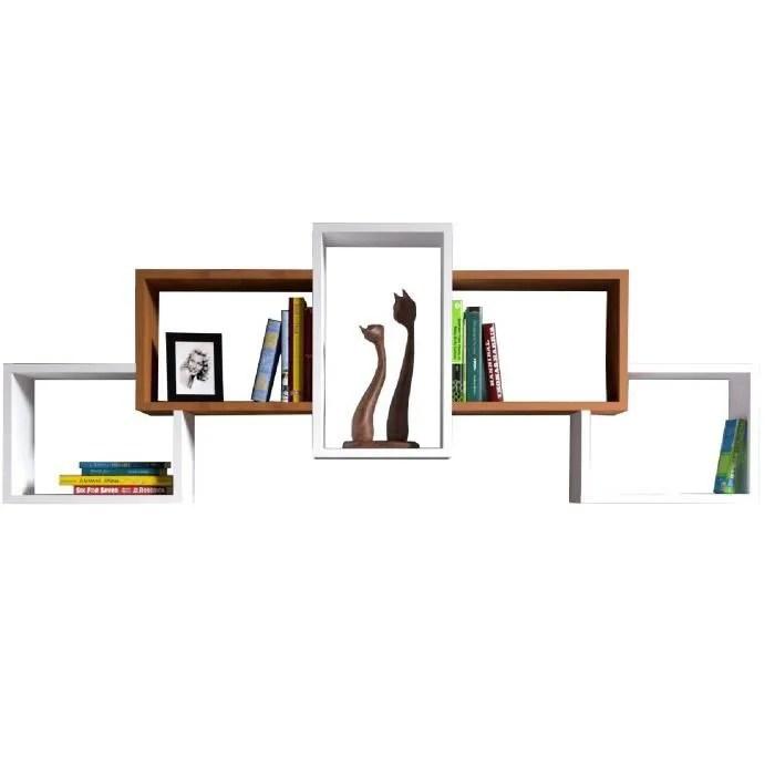 bold etagere murale etagere a livres pour decora