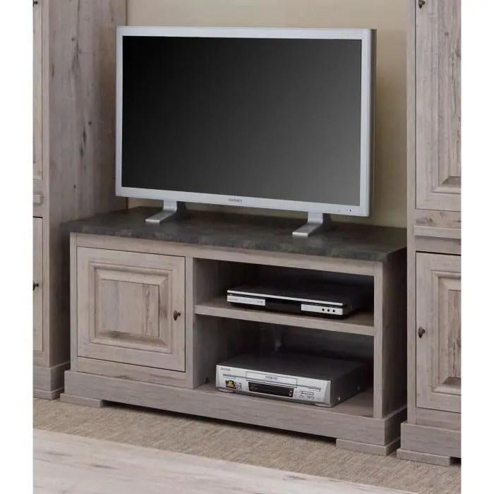 meuble tv contemporain 126 cm coloris