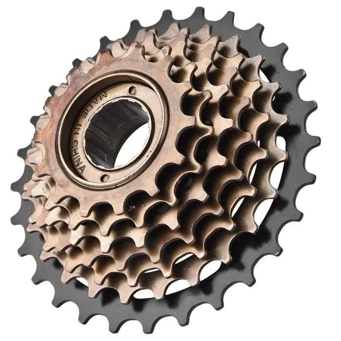 roue arriere de velo a cassette 7 vitesse 700