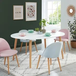 table scandinave extensible