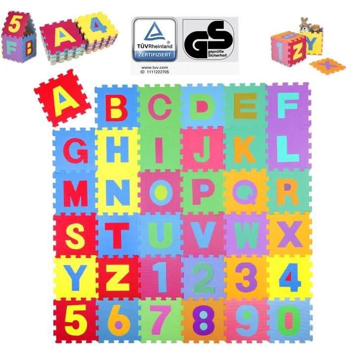 tapis d eveil puzzle en mousse