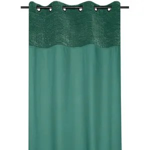 rideau velours vert achat vente