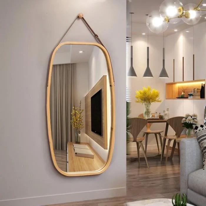 miroir mural de salon