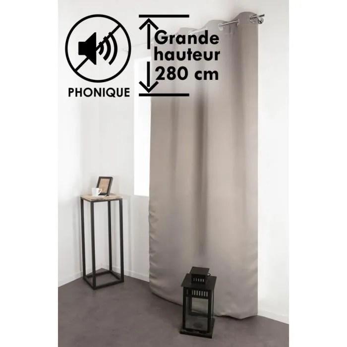 rideaux occultant hauteur 150