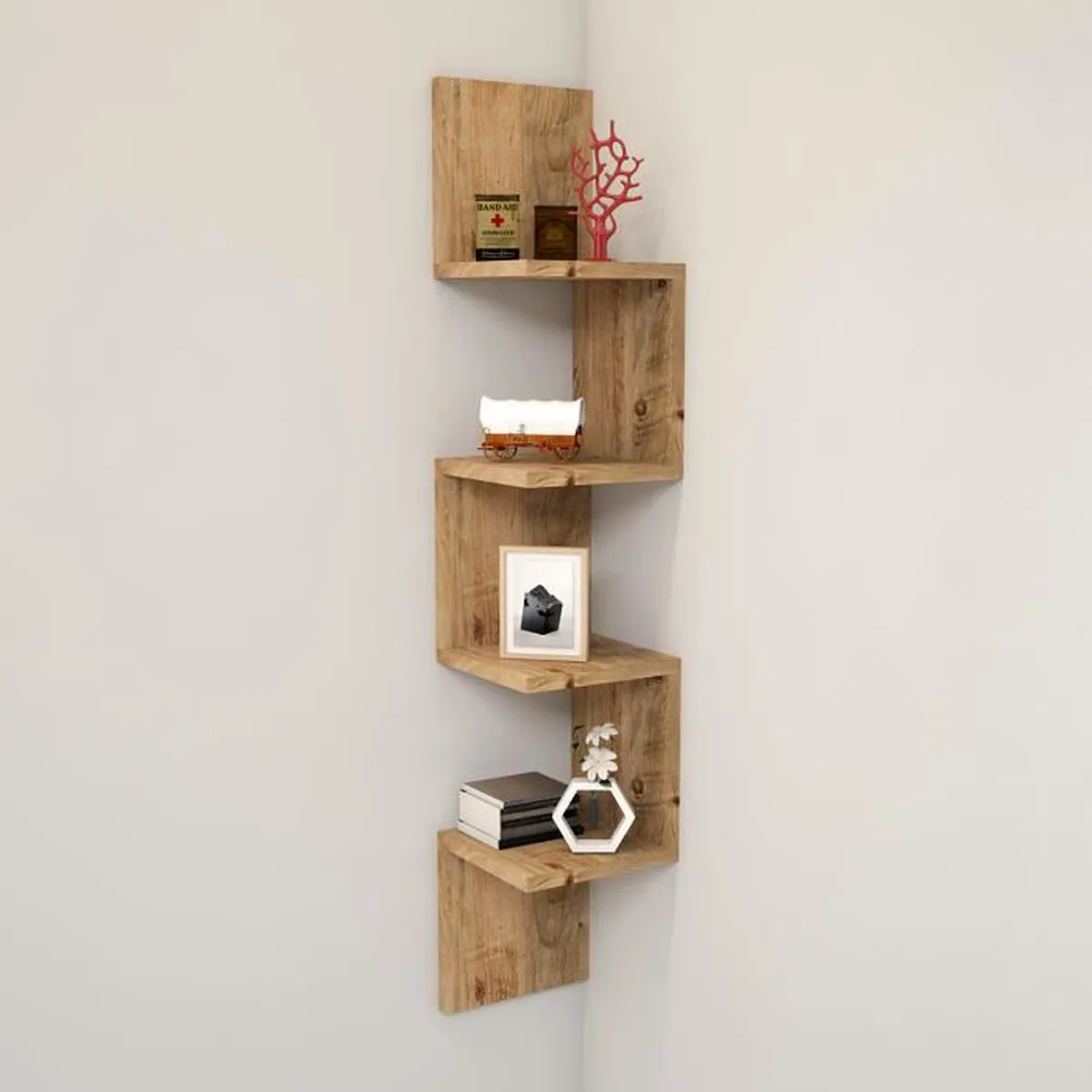 etagere bibliotheque d angle
