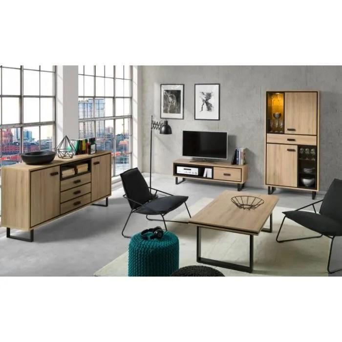 meuble tv 1 vitrine buffet table