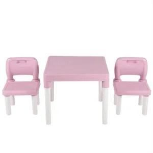 table enfant rose