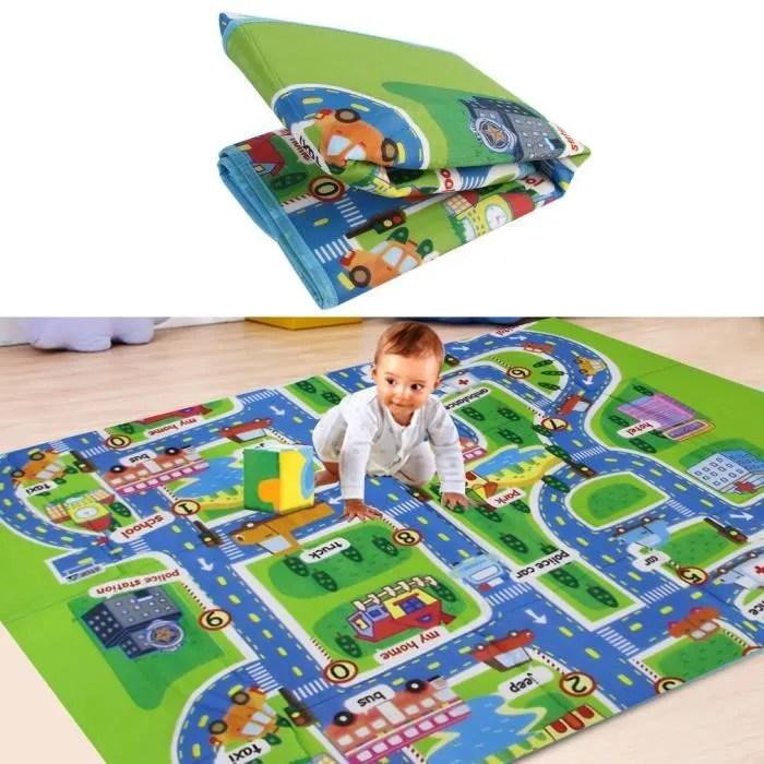 tapis de jeu circuit voiture de course tapis rampa