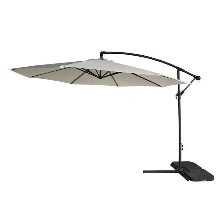 parasol parapluie exterieur polyester