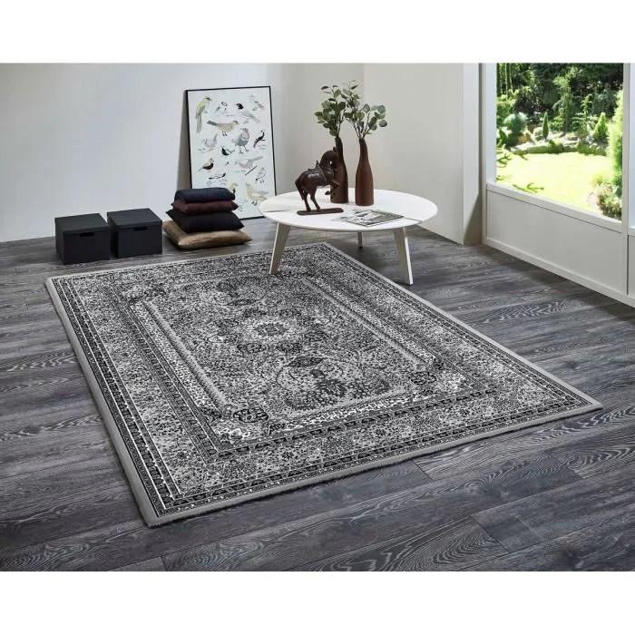 orient tapis d orient 80x150cm nuances de gr
