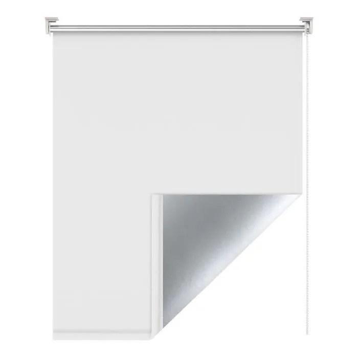 store enrouleur blanc 110 x 170 cm store occultant