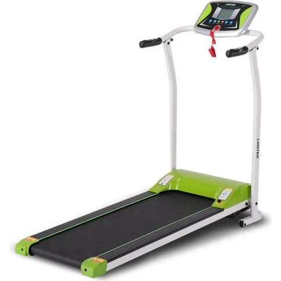 lontek 502 tapis de course pliable frequence cardiaque vitesse jusqu a 10 km h 12 programmes