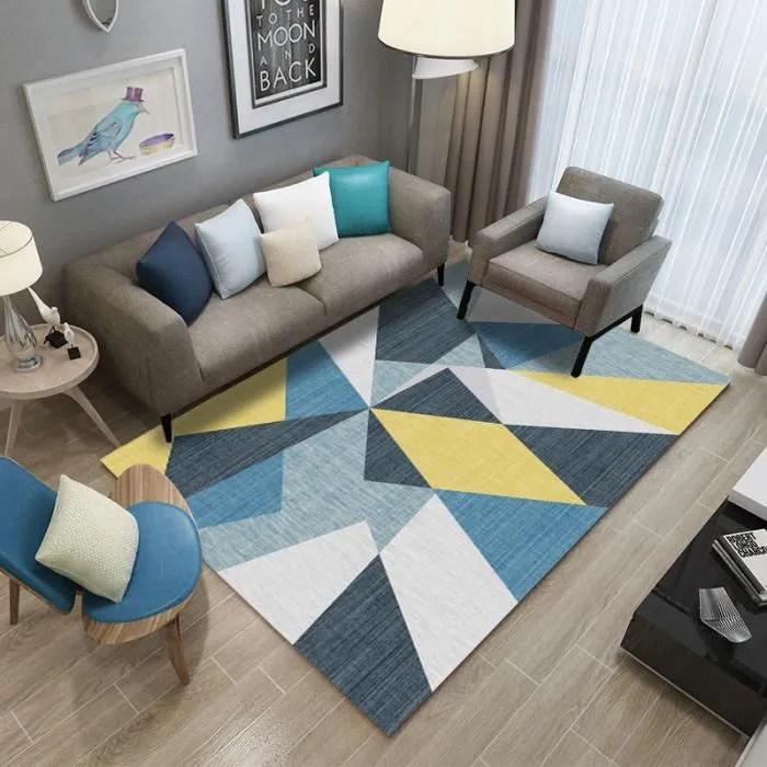tapis de salon europeen moderne madrid style sca