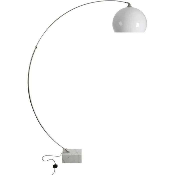 lampadaire design pied en marbre roca
