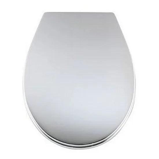 Abattant Wc Thermoplastique Chrome Carrefour Cdiscount Bricolage