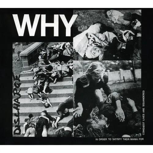 Discharge - Why - Achat CD cd pop rock - indé pas cher -