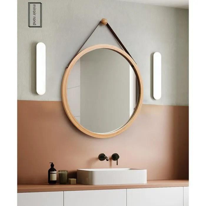 miroir rond 60