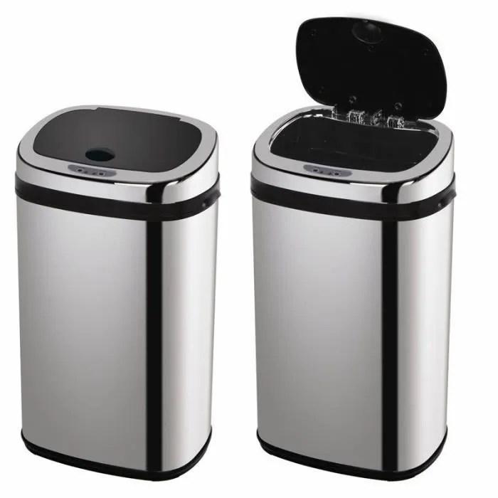 corbeille poubelle automatique a dete