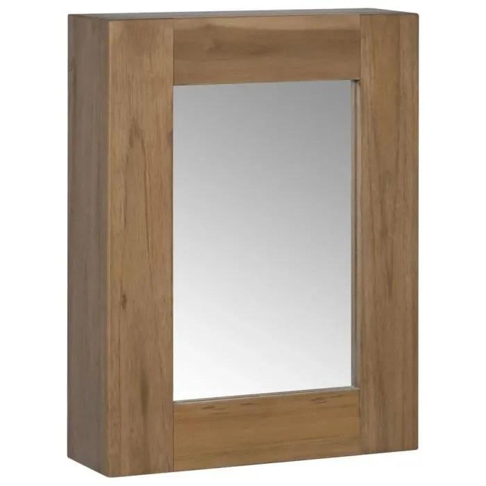 armoire de toilette avec miroir meuble