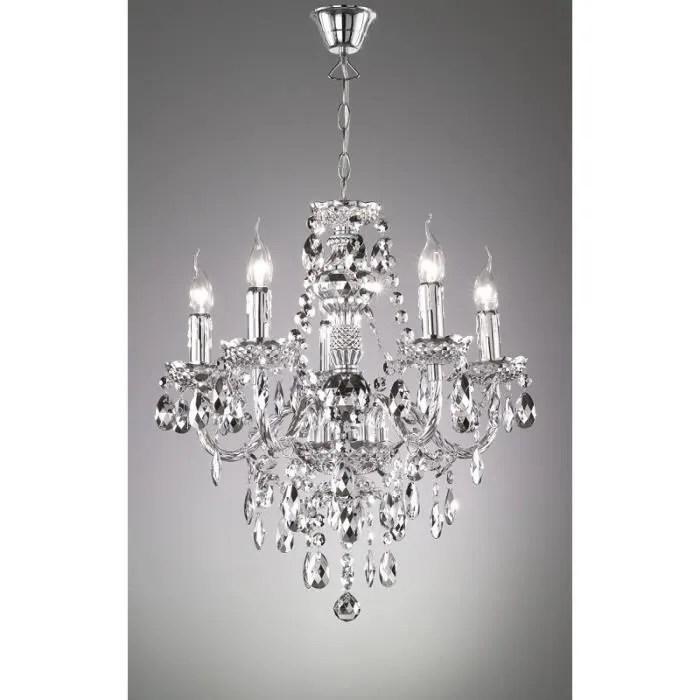 lustre baroque 5 lampes