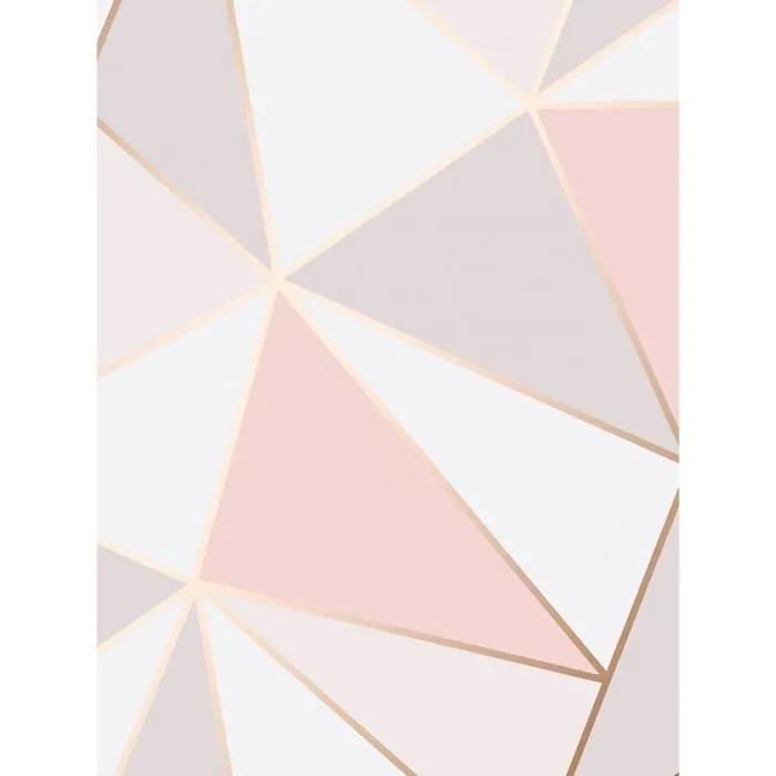 papier peint rose gold