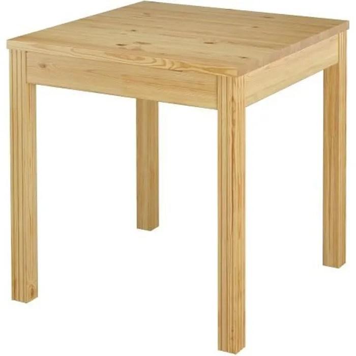 90 70 50c table a manger table de cuisine de 2 a 4 personnes petite table carree en pin massif naturel pieds de table avec