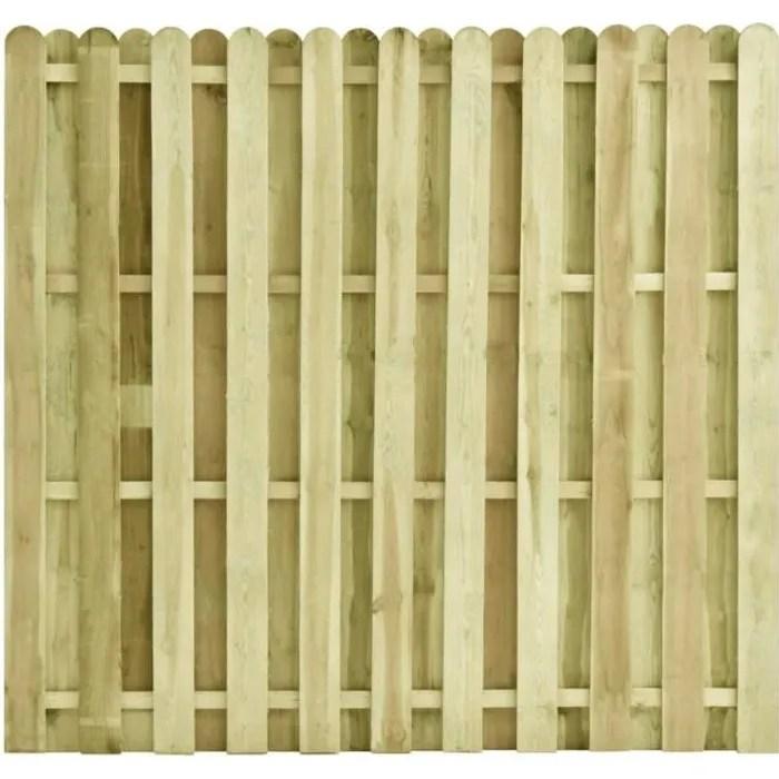 qim panneau de cloture bois de pin impregne 180x17