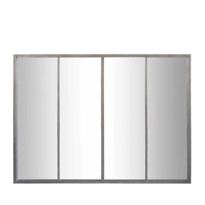 frank miroir verriere zinc 90 x 120 cm