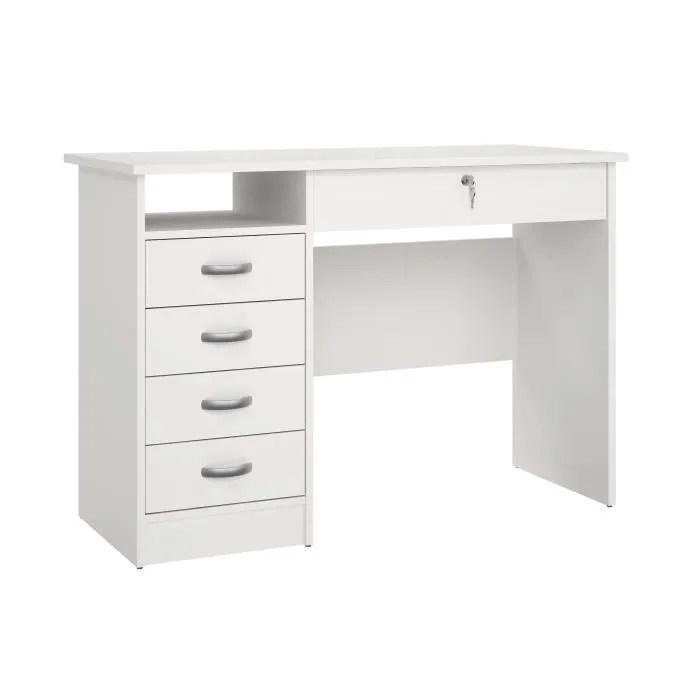 bureau blanc 110 cm