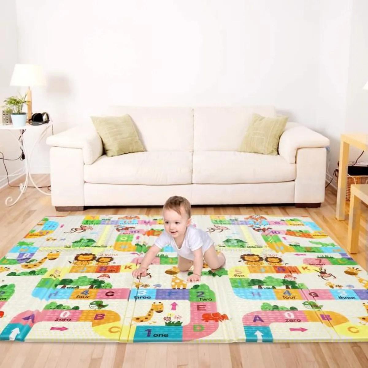 tapis pliable impermeable non toxique