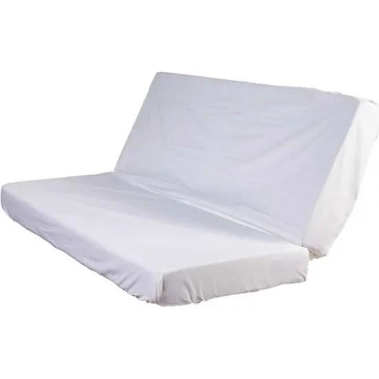 Protege Matelas Molleton Impermeable 100 Coton Pour Clic Clac 130x190 Blanc Fabrique En France Terre De Nuit Cdiscount Maison