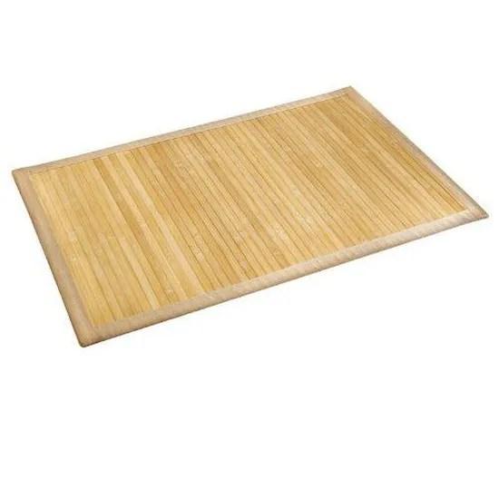 wenko 17996100 tapis bambou naturel