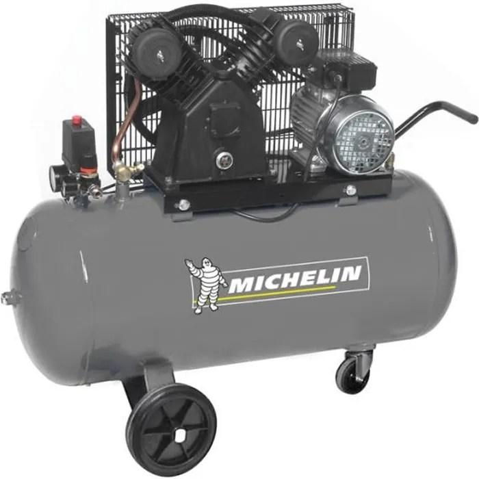 Michelin Compresseur Avec Cuve 100 Litres 3 Cv Cdiscount