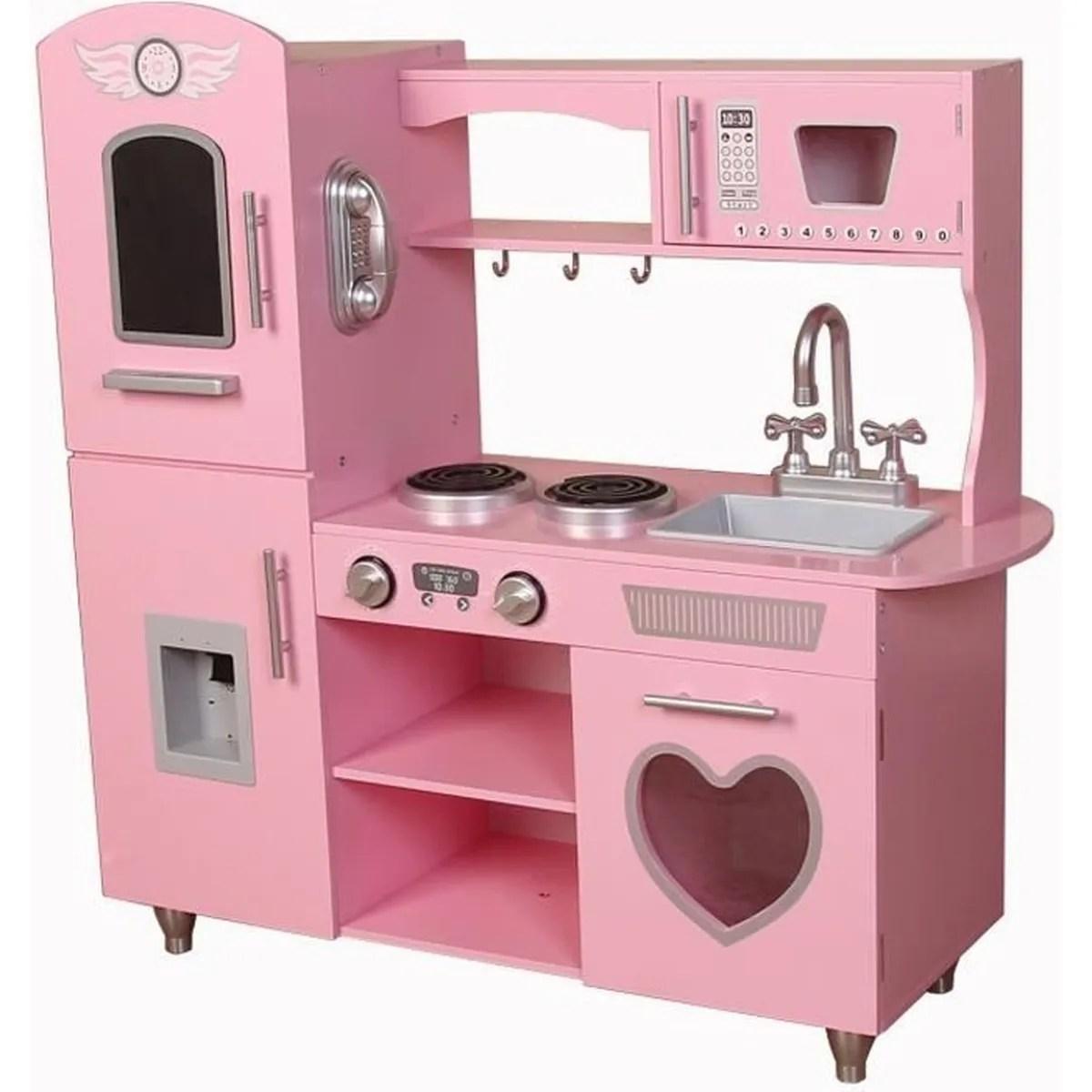 cuisine enfant rose dinette jouet