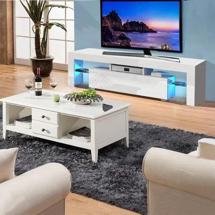 meuble tv mural meuble tv 130x35x45 cm