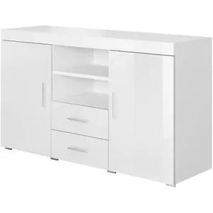 meuble de rangement blanc 90cm de largeur