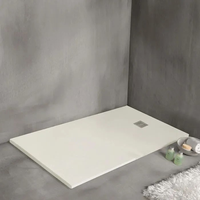 receveur de douche strato extra plat blanc 140