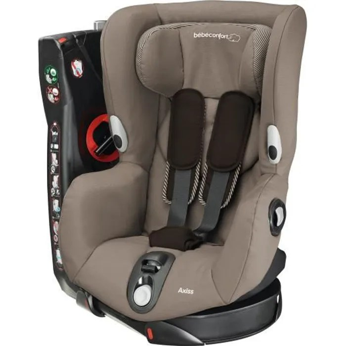 bebe confort siege auto axiss groupe 1 earth brown pivotant