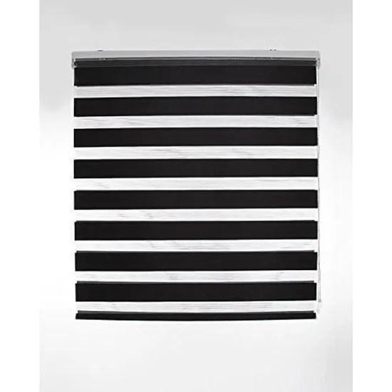 blindecor nd200 store double tissu occultant jour et nuit 120 x 250 cm noir