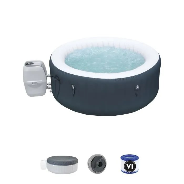 bestway spa gonflable rond lay z spa baja 2 a 4