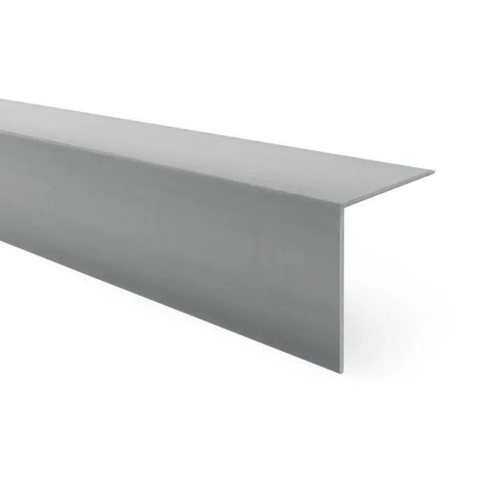 100cm Corniere De Protection D Angle Adhesive En Pvc Rigide Gris Fonce 30 X 30 Mm Cdiscount Puericulture Eveil Bebe