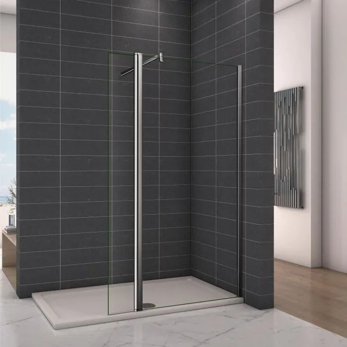 paroi de douche avec volet pivotant 70 40x200cm mo