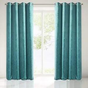 https www cdiscount com maison r rideaux turquoise avec motif html