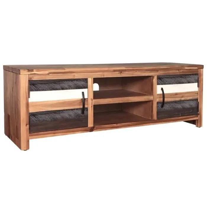 meuble tv scandinave contemporain bois