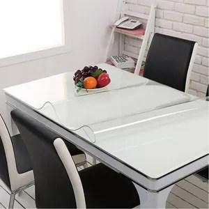 tapis transparente de table a manger