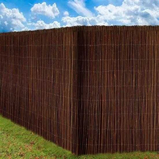 sol royal canisse en saule solvision w79 500x100cm haie brise vue brande pour jardin terrasse balcon protection regards vent soleil
