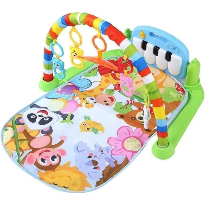 soulong tapis de jeux piano enfant bebe tapis musi