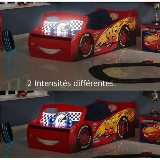 lit flash mcqueen cars disney avec pare