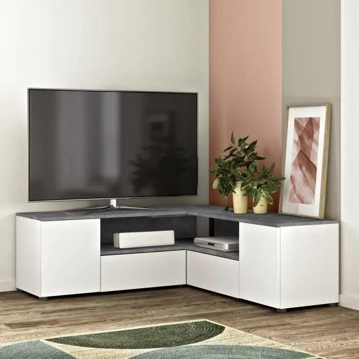 meuble tv 130 cm